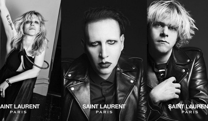 SAINT LAURENT PARIS: MUSIC PROJECT UND ROCKSTAR-IMAGE
