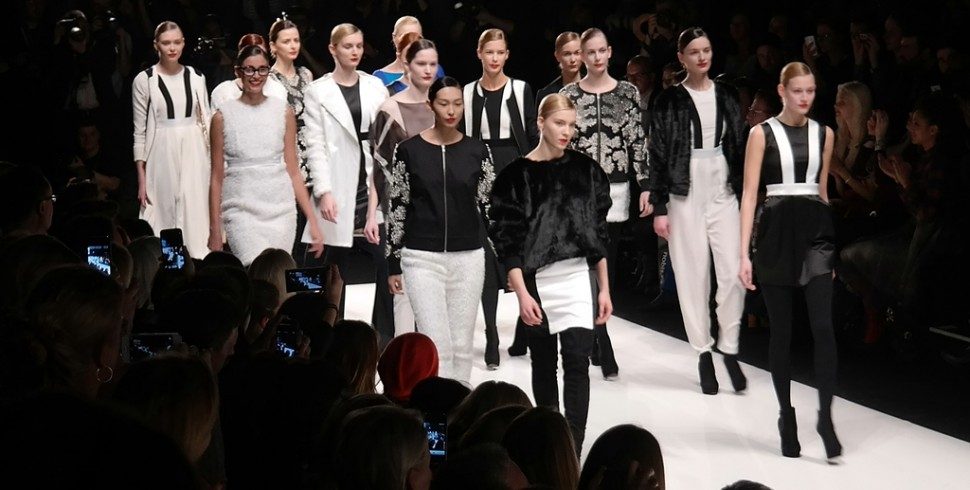 BERLIN FASHION WEEK: MARCEL OSTERTAG